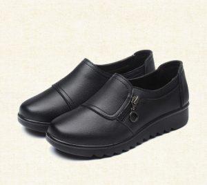 Sepatu Pantofel Wanita Import Warna Hitam