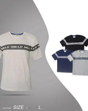 Kaos Cowok Illusive Terlaris Warna Biru Navy Size L