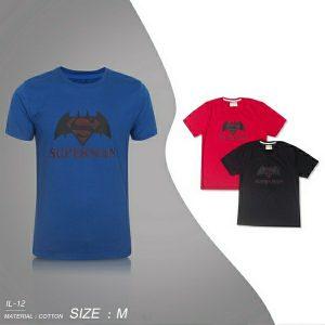 Kaos Oblong Cowok Gambar Superhero Harga Murah