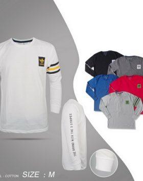 Kaos Pria Lengan Panjang Branded Size M GJ143M