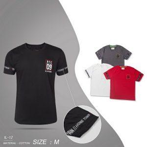 Kaos Pria Sporty Branded Size M GJ158M