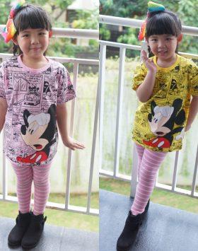 Kaos Anak Perempuan Termurah KA111