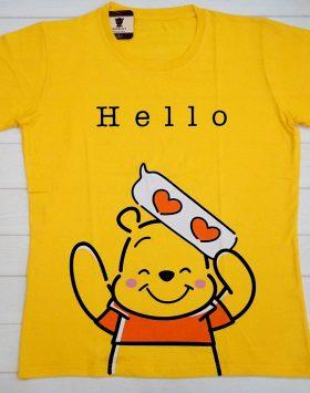 Kaos Lengan Pendek Winnie The Pooh GJKA136