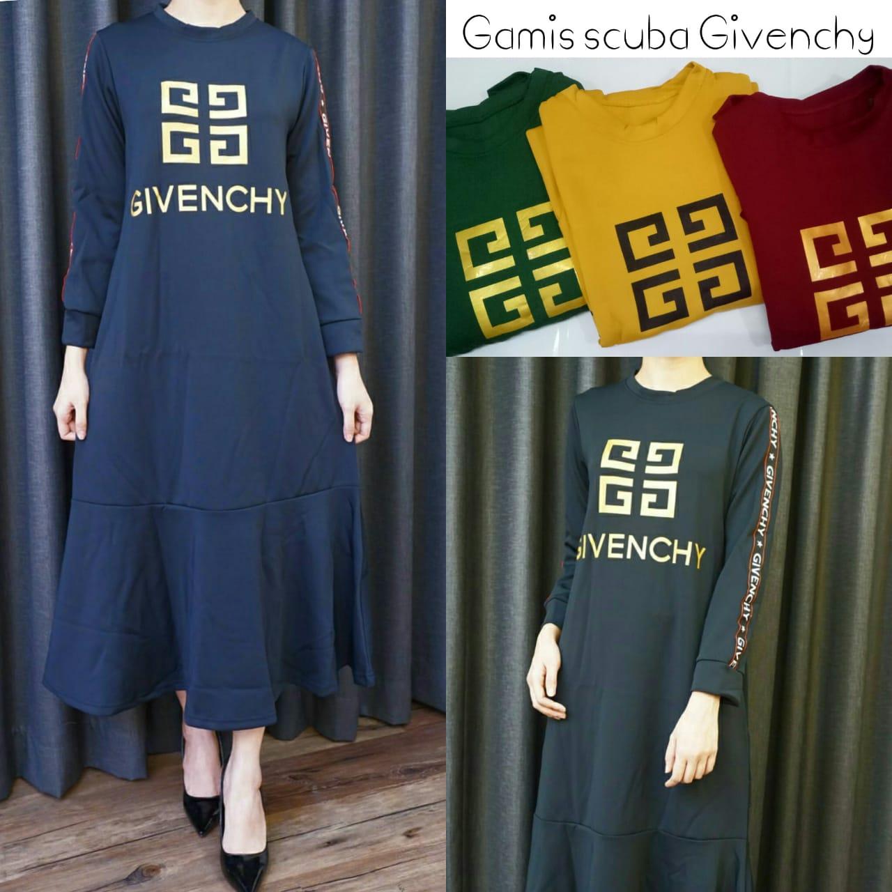 Baju Dress Lengan Panjang Branded GJD 046