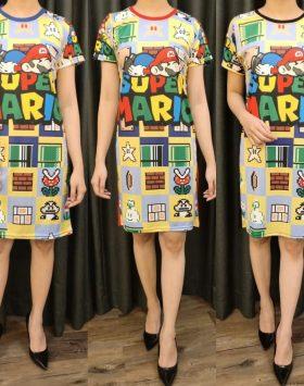 Dress Lengan Pendek GJD 049