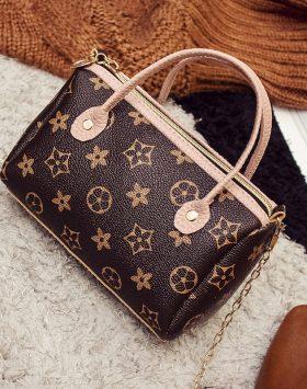 Hand Bag Kecil Selempang Rantai GJT236 Pink 1