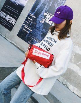 Sling Bag Branded Import Murah Warna Merah GJT275 4
