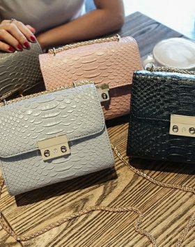 Sling Bag Selempang Rantai Import GJT189 1