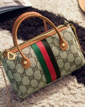 Tas Handbag Kecil Import Selempang Rantai GJT234 Coklat 1