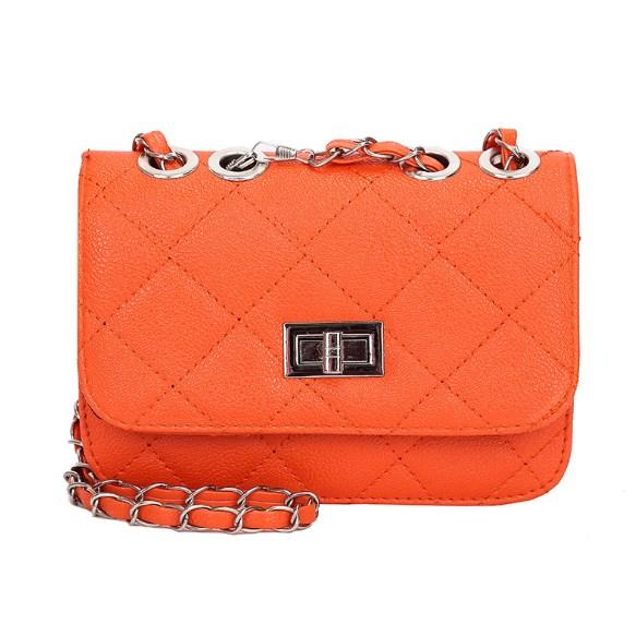 Tas Selempang Kecil Import GJT211 Warna Orange