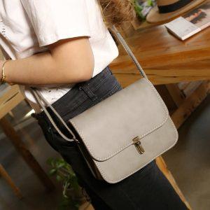 Sling Bag Wanita Simple Elegan Kulit Import