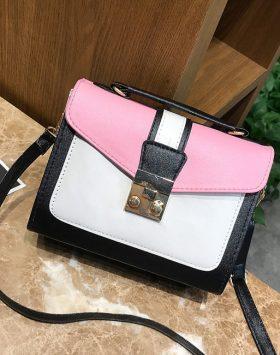 Tas Sling Bag Murah Import GJT274 Pink 3