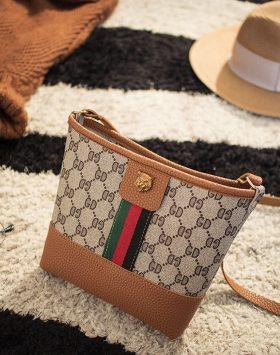 Tas Wanita Tote Bag Kecil Import GJT229 Coklat