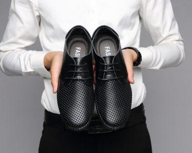 Sepatu Fashion Pria Kulit Asli Import 1