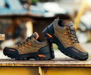 Harga Promo Sepatu Pendaki Import Fashion Cowok Warna Coklat