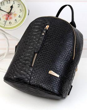 Tas ransel fashion wanita import Terlaris warna hitam 02