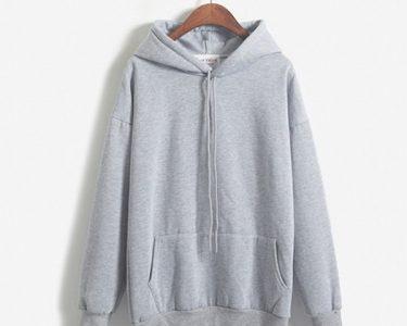 Sweater Import Polos Terlaris Warna Abu - Abu GJSC 430