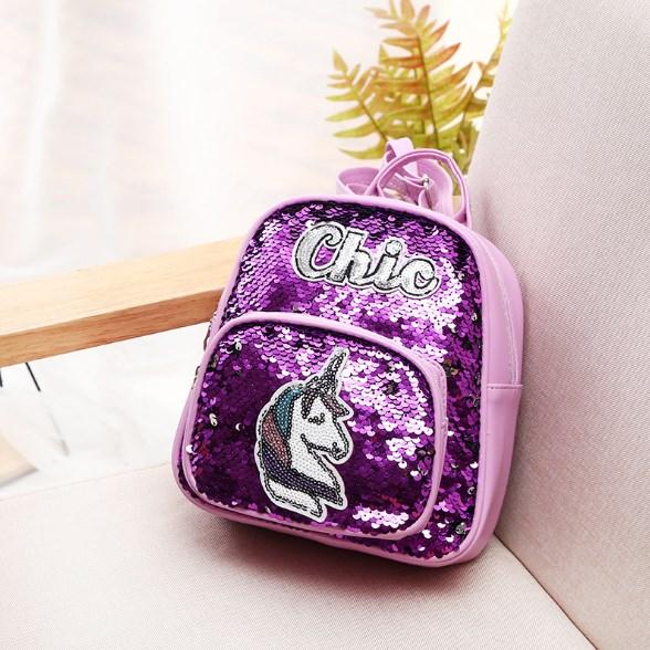 tas anak sequin unicorn model justice import harga murah
