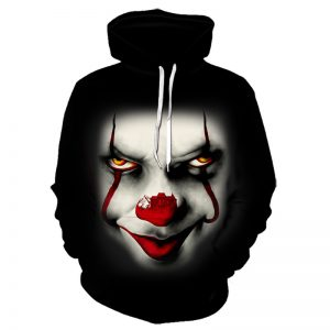 Jaket Sweater Joker 3 Dimensi Hoodie Import 3d