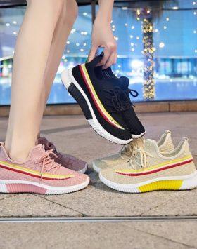 Sepatu Fashion Sneakers Wanita Sepatu Olahraga Kekinian