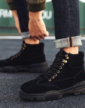 Sepatu Gunung Hiking Pria Import Sepatu Boot
