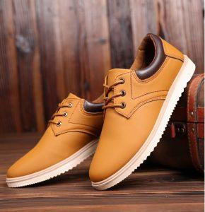 Sepatu Pria Casual Terbaik Sepatu Import Shoes Kerja Kantor GJ645