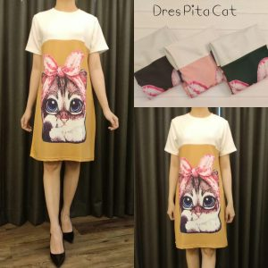 Dress Lengan Pendek Harga Murah