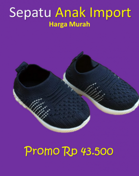 Sepatu Anak Bayi Import