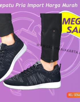 Sepatu Cowok Sneakers Sport Asli Import