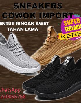 Sepatu Pria Import Sneakers Sepatu Running