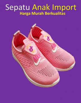 Sepatu Slip On Perempuan Anak Kecil (1)