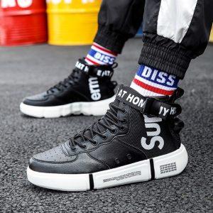 Sepatu Sneakers Pria Tinggi Terbaru 2020