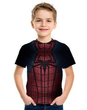 Baju Anak Kecil Spiderman 3d Terbaru