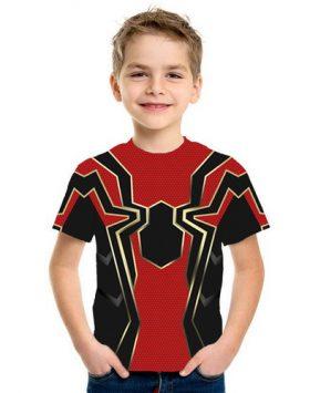 Baju Kaos Anak Kecil Spiderman 3d Terbaru