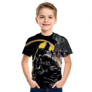 Baju Kaos Anak Superhero Batman 3d