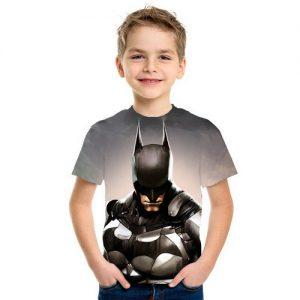 Baju Kaos Anak Superhero Batman 3d Murah