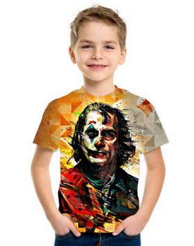 Baju Kaos Joker Anak 3d Import