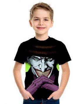 Baju Kaos Joker Anak Anak 3d Import