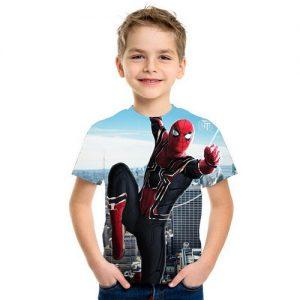 Kaos Anak Spiderman 3d Terbaru 2020