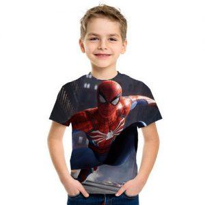 Kaos Anak Spiderman 3d Terbaru