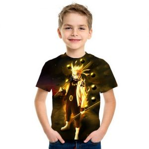 Kaos Baju Anak 3d Kartun Naruto