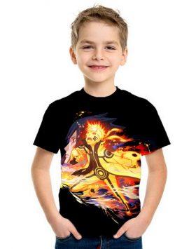 Kaos Baju Anak 3d Naruto