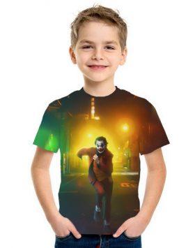 Kaos Joker Anak Anak 3d Import