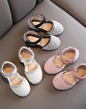 Sandal Pesta Anak Perempuan Import Murah