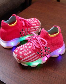 Sepatu Anak Lampu LED Import Harga Murah 1