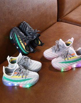 Sepatu Anak Lampu Led Import Terbaru