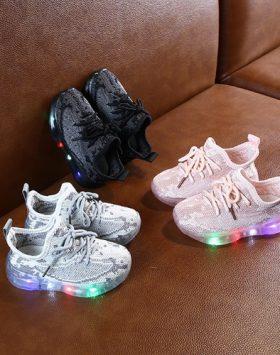 Sepatu Anak Led Import Terbaru Murah