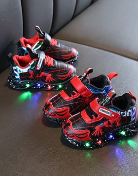 Sepatu Lampu Led Anak Laki Laki Import Murah