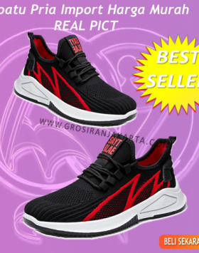 Sepatu Pria Import Sneakers Olahraga Running