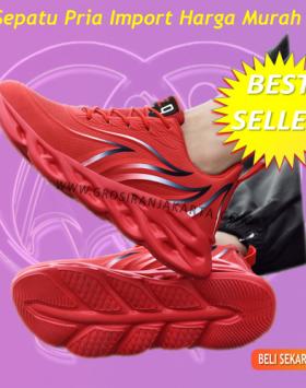 Sepatu Pria Trend Sekarang Sneakers Import Harga Murah
